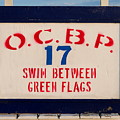 Ocean City - Swim Between Green Flags by Richard Reeve