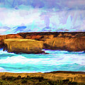 Ocean Cliffs by Perry Webster