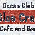 Ocean Club Cafe by Debbie DeWitt