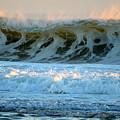 Ocean Energy At Sunrise by Dianne Cowen