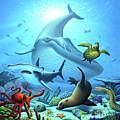 Ocean Life by Jerry LoFaro