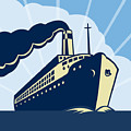 Ocean Liner Boat by Aloysius Patrimonio