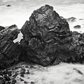 Ocean Rock Carving, Mendocino Headlands, California by Flying Z Photography by Zayne Diamond