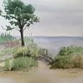 Ocean Scene by Katherine  Berlin