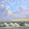 Ocean Storm Sunrise by Matthew Hannum