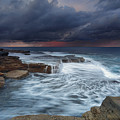 Ocean Stormfront Maroubra by Leah-Anne Thompson