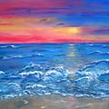 Ocean Sunrise by Sandy Hemmer