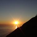 Ocean Sunset by Cassandra Geernaert