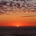 Ocean Sunset In Washington - 2 by Christy Pooschke