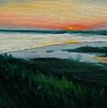 Ocean Sunset No.1 by Erik Schutzman