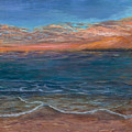 Ocean Sunset Series- Solitude II by Rita Cortesi