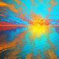 Ocean Sunset  by Susanna Katherine