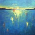 Ocean Sunset by Vesna Antic