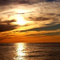 Ocean View Sunset by Patricia L Davidson