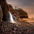 Ocean Waterfall by Karen Hunnicutt-Meyer