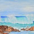 Ocean Wave by Linda Brody