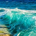 Ocean Waves by Joy of Life Arts Gallery
