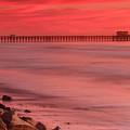 Oceanside Pier Sunset 4 by Ben Graham