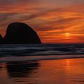 Oceanside Sunset 3 by Ken Dietz