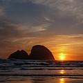 Oceanside Sunset 4 by Ken Dietz