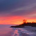 Ochlockonee Bay Sunrise by Rich Leighton
