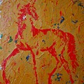 Ochre Horse by Emily Page
