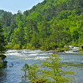 Ocoee River by Carol  Bradley