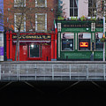 Oconnells Pub And The Batchelor Inn - Dublin Ireland by Bill Cannon