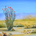 Ocotillo In The Park by Nancy Miehle