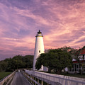 Ocracoke Lighthouse 01 by Jim Dollar