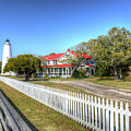 Ocracoke Lighthouse, Ocracoke Island, Nc by Greg Hager