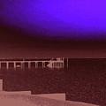 Ocracoke Shoreline Pier by Wayne Potrafka