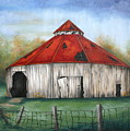 Octagen Barn by Ruth Bares