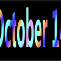 October 14 by Day Williams