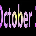October 3 by Day Williams