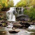 October At Bald River Falls by Greg and Chrystal Mimbs
