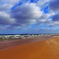 October Beach by Callan Art