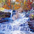 October Falls by David Lloyd Glover