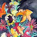 October Flowers by Vanda Sucheston Hughes