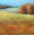 October Grazing Fields by Donna Pierce-Clark