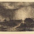 October Rain: Posuclos In The Guardarramas, Near Madrid by Sir John Charles Robinson