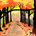 October- Salem Common by Paul Meinerth