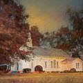 October Sunrise At The Chapel by Jai Johnson
