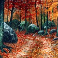 October Woodland by Frank Wilson