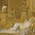 Odalisque With Slave by Ingres Jean Auguste Dominique