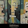 Odd Fellows Triptych by Tim Nyberg
