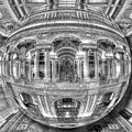 Ode To Mc Escher Library Of Congress Orb Horrizontal by Tony Rubino