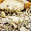 Off Road Bike Trinkets by Jorgo Photography - Wall Art Gallery