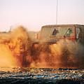 Off Road Mud Splash-1 by Steve Somerville