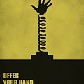 Offer Your Hand, Not Your Judgment Corporate Start-up Quotes Poster by Lab No 4